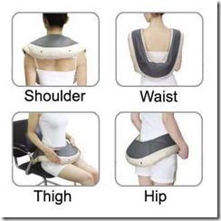 Neck Shoulder Massager-shoulder,waist,thigh,hip